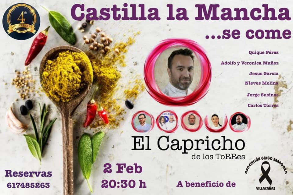 Cena solidaria Castilla La Mancha… se come